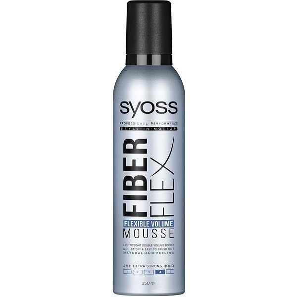 Syoss Hajhab 250ml FiberFlex Flexible Volume