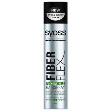 Syoss Hajlakk 300ml FiberFlex Flexible Hold