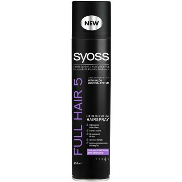 Syoss Hajlakk 300ml Full Hair5