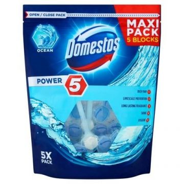 Domestos Power 5 Maxi Pack Ocean