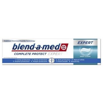 Blend-a-med Complete Protect Expert Fogkrém 100ml Deep Clean
