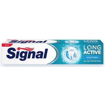 Signal Long Active Fogkrém 75ml White Fresh