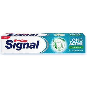 Signal Long Active Fogkrém 75ml Fresh Breath
