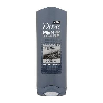 Dove Men+Care tusfürdő 250ml Elements Charcoal+Clay