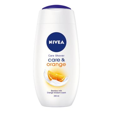 Nivea tusfürdő 250ml Care&Orange