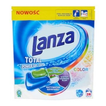 Lanza-Vanish Ultra 2in1 Total mosókapszula 28db Color