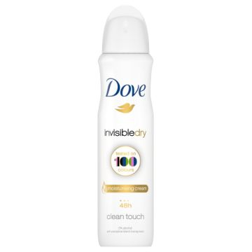 Dove Dezodor 150ml Invisible Dry