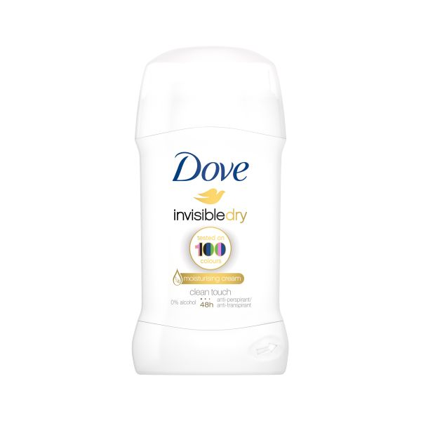 Dove izzadásgátló stift 40ml Invisible Dry