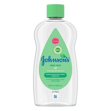 Johnson's Baby Oil 200ml Aloe Vera