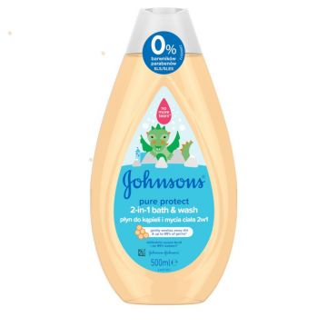 Johnson's Baby 2in1 Bath&Wash 500ml Pure Protect