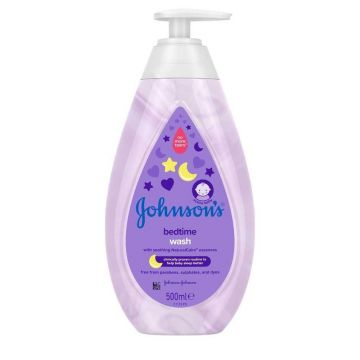 Johnson's Baby Wash 500ml Bed time