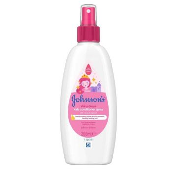 Johnson's kondícionáló spray 200ml Shiny Drops