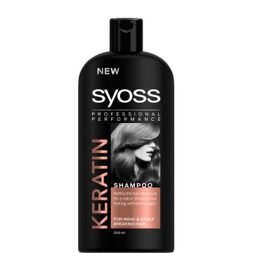 Syoss Sampon 500ml Keratin