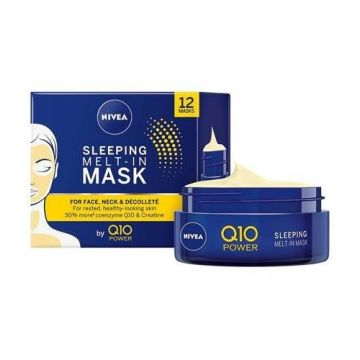 Nivea Q10Power 50ml Melt-In éjszakai arcmaszk