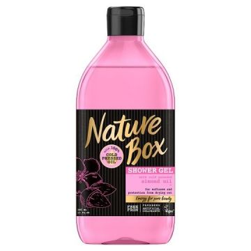 Nature box tusfürdő 385ml Mandula