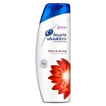 Head&Shoulders Sampon 360ml 2in1 Thick & Strong