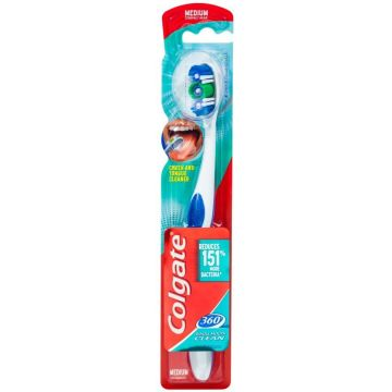 Colgate 360 fogkefe 1db Whole Mouth Clean Medium