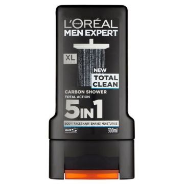 L'oreal Men Expert tusfürdő 300ml Total Clean