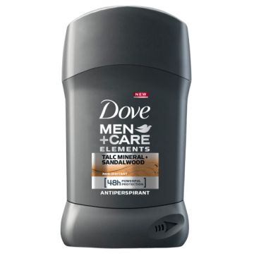 Dove Men+Care Stift 50ml Talcmineral+Sandalwood