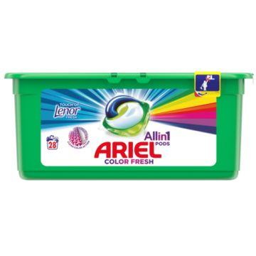 Ariel 3in1 Pods 28mosás-28db Touch of Lenor Fresh