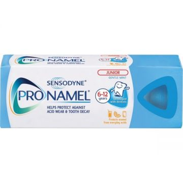 Sensodyne ProNamel Junior Fogkrém 50ml 6-12 Évesig