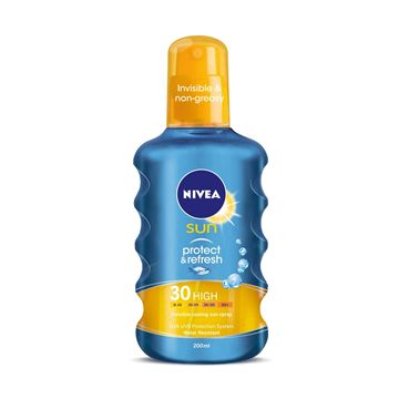 Nivea Sun Protect&Refresh napozó spray SPF 30 200ml