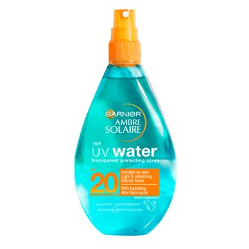 Garnier Ambre Solaire UV Water Transparent Protecting Spray...