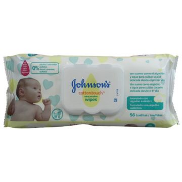 Johnson's Baby törlőkendő 56db Extra Sensitive
