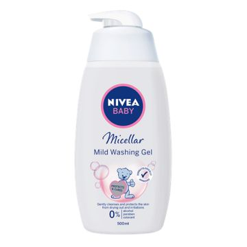 Nivea Baby Micellar Mild Washing Gel 500ml
