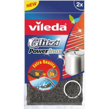 Vileda Glitzi Power Inox 2db