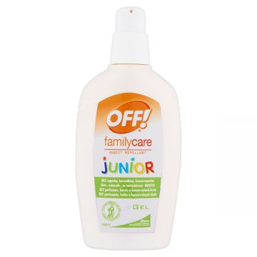 Off Family Care Junior Szúnyog és Kullancsriasztó Gél 100ml
