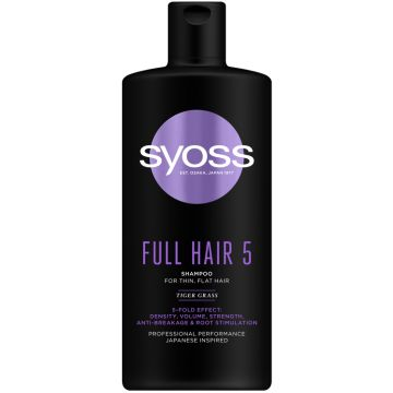 Syoss Sampon 440ml Full Hair5