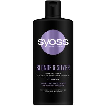 Syoss Sampon 440ml Blonde &...