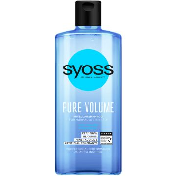 Syoss Sampon 440ml Pure Volume