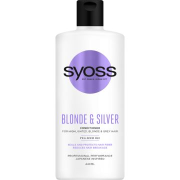 Syoss Balzsam 440ml Blonde & Silver