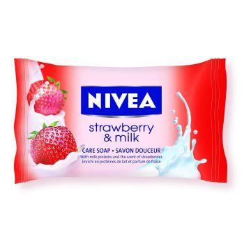 Nivea Krémszappan 90g Strawberry&Milk
