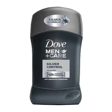 Dove Men+Care Stift 50ml Silver Control