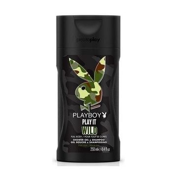 Playboy Tusfürdö és Sampon 250ml Play it Wild