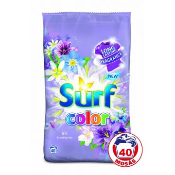 Surf Mosópor 40 mosás-2,6kg Color Iris&Spring Rose