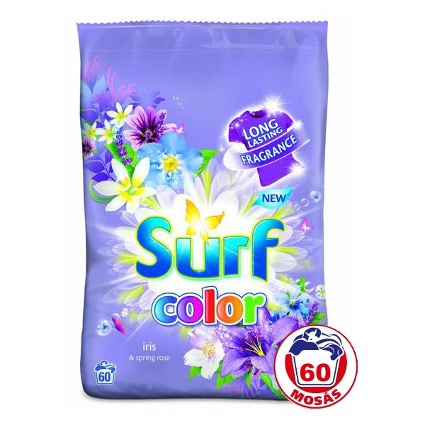 Surf Mosópor 60 mosás-3,9kg Color Iris&Spring Rose