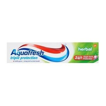 Aquafresh Triple Protection fogkrém 100ml Herbal