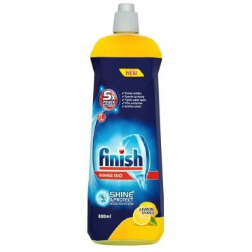 Finish Shine&Protect gépi öblítőszer 800ml Lemon