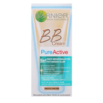 Garnier Pure Active BB Cream 50ml  Közepes Árnyalat