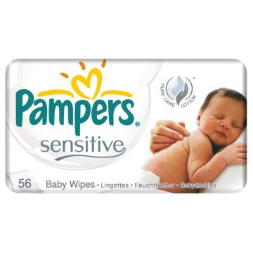 Pampers Popsitörlö 56 db