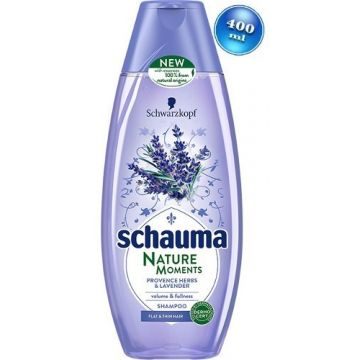 Schauma Nature Moments sampon 400ml Provence Herbs & Lavender