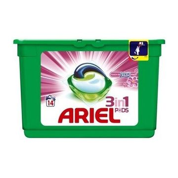 Ariel 3in1 Pods, 14 db - 14 mosás Touch of Lenor