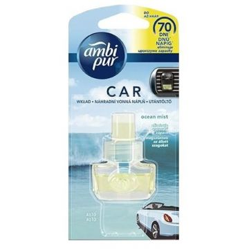 Ambi Pur Car Fresh Escapes 7ml UT Ocean Mist