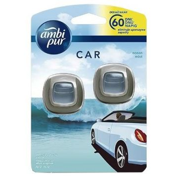 Ambi Pur Car Clip 2ml Ocean Mist DUO
