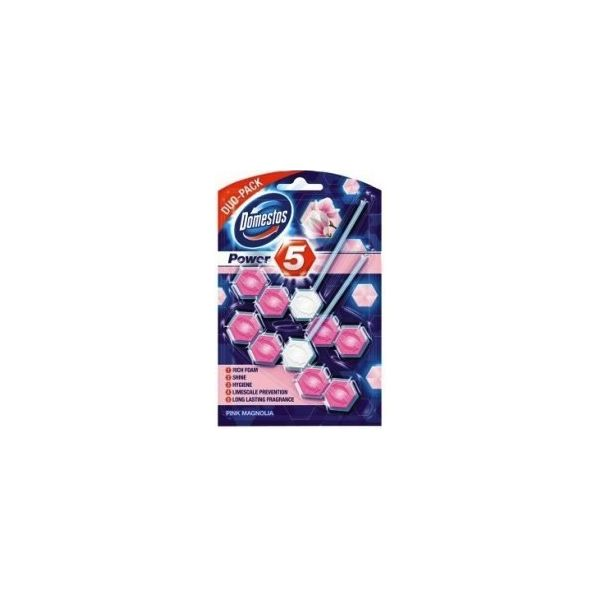 Domestos Power 5 DUO Pink Magnolia