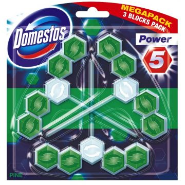 Domestos Power 5 TRIO Pine